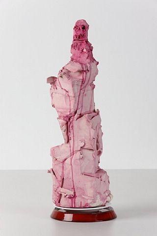 Love the color, love the medium--clay, just like it.  Enjoy the creativity. Gert und Uwe Tobias, Ohne Titel / Untitled