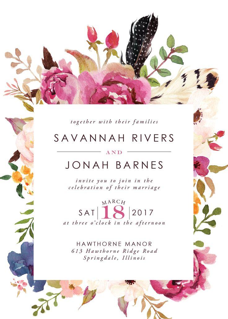 Retrouvez le mariage Bohème fleur enregistrer la Date au: https://www.etsy.com/listing/542424185/bohemian-flower-wedding-save-the-date?ref=listings_manager_grid — — — LISTE COMPREND — — — Invitation imprimable Suite: 5 x 7 carte Invitation, carte de 4 x 6» plus de détails, de 3.5 «x 5» RSVP * S'il vous plaît NOTE: Cette liste comprend uniquement le fichier numérique personnalisé à être envoyé par courriel. Aucun article physique ne sera envoyé. Enveloppe ...
