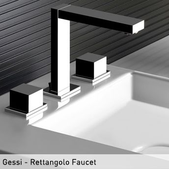 Best Gessi Design For Bath Images On Pinterest Bathroom - Contemporary waterfall faucets riflessi from gessi