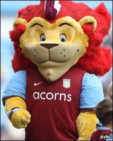 Aston Villa - Hercules the Lion.