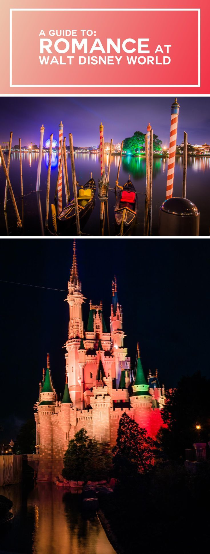 A comprehensive guide to our favorite things to do as a couple at the most magical place on earth, to also make it the most romantic place on earth. #WDW