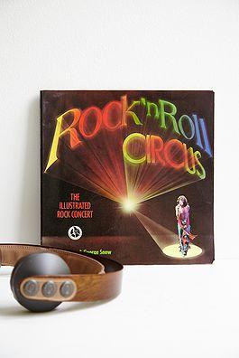 Rock 'n Roll ircus bog - 100kr. Køb den på www.loppedesign.dk