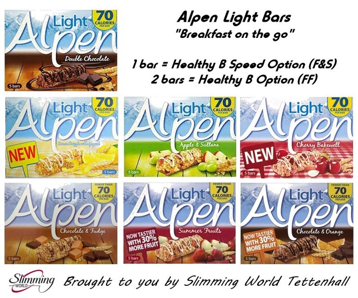 Slimming World - Alpen Light Bars