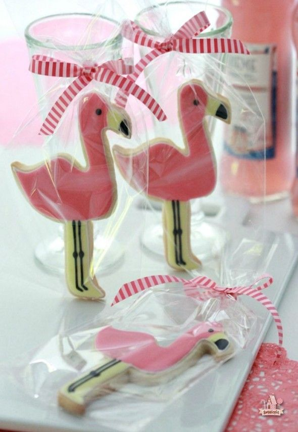 Adorable Flamingo Cookie & Gifting~How-to Video