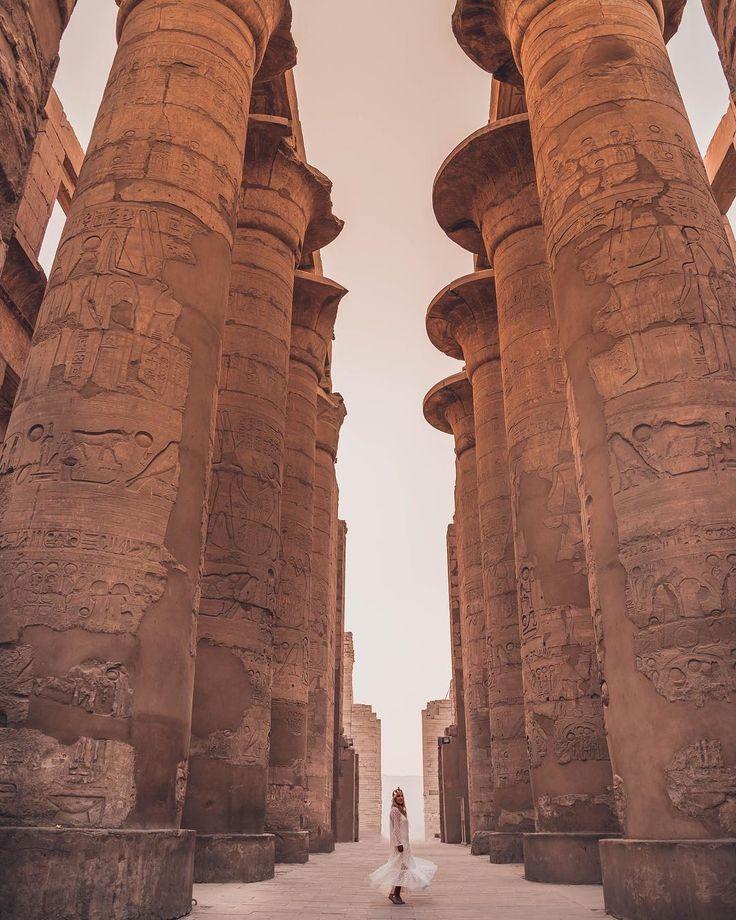 Temple of Karnak, Egypt, Travel, Tourist Attraction, Sightseeing Spots, Superb Views, World Heritage, Ancient Ruins, Trip