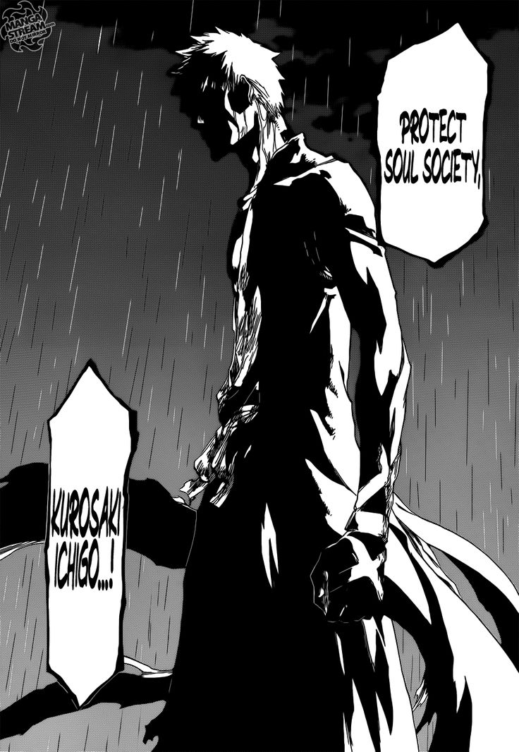 Read manga Bleach 512: Everything but the rain online in high quality