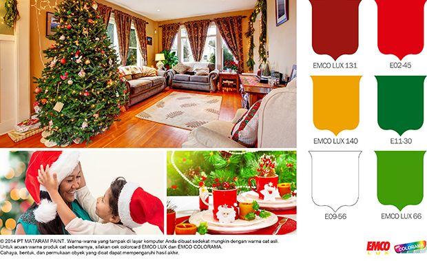 Meriahnya Pernik Natal! #Inspirasi #Warna http://matarampaint.com/detailNews.php?n=279