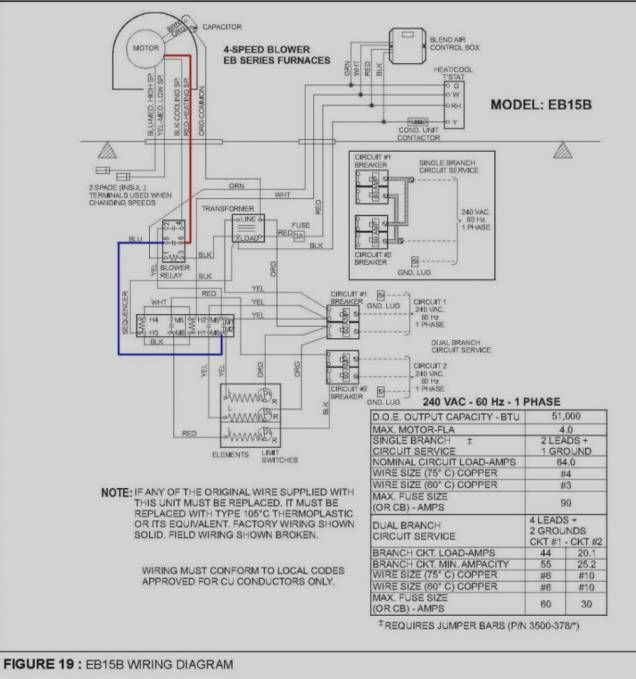 16 gas furnace wiring diagram  electric furnace coleman