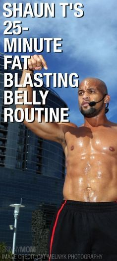 VIDEO: Follow along with Insanity's Shaun T to blast that belly fat!