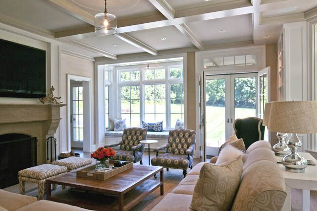 Layout for family room -Marcus Design