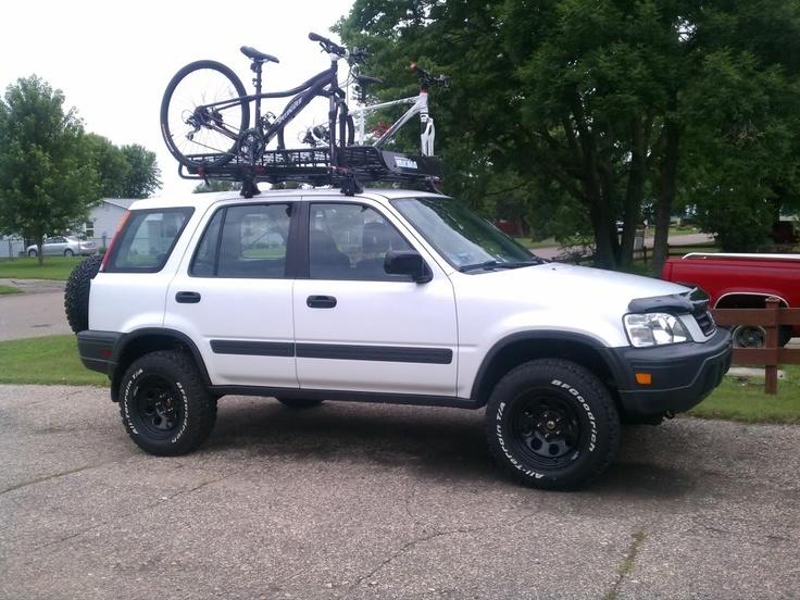 2004 Honda Crv Roof Rack 2000 Crv LX 5MT with lift kit   My Style   Pinterest
