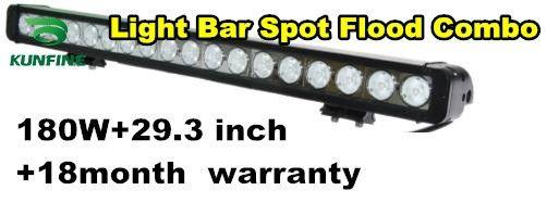 175.41$  Buy now - http://aliewo.worldwells.pw/go.php?t=1847649430 - 29.3 inch 180W Offroad LED Light Bar Spot Flood Combo Beam 9V-70V Waterproof LED Work Light ATV SUV 4WD Drive Lamp KF-4180 175.41$