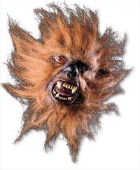 Eine echt gruselige Maske. Die Werwolf Halbmaske für die Halloween Nacht macht wirklich Angst! Perfekte Latexmaske - damit wirst du wirklich zum Werwolf!