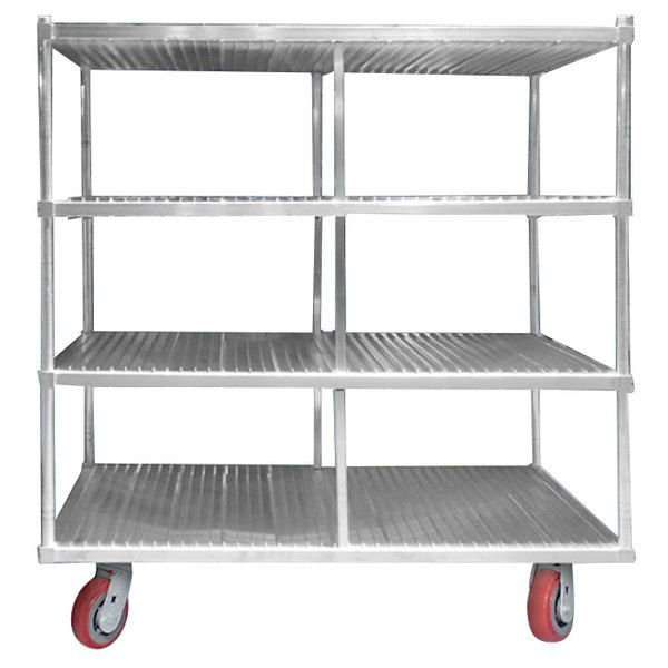 Channel FTDR-3 Heavy-Duty Aluminum Tray Drying Rack - 120 Tray Capacity