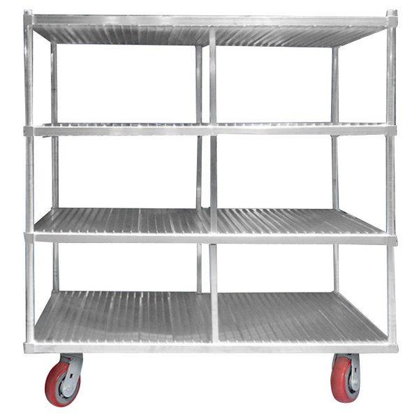 Channel FTDR-3 Heavy-Duty Aluminum Tray Drying Rack - 120 Tray Capacity