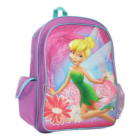 Fairies Combo Backpack Purple One Size