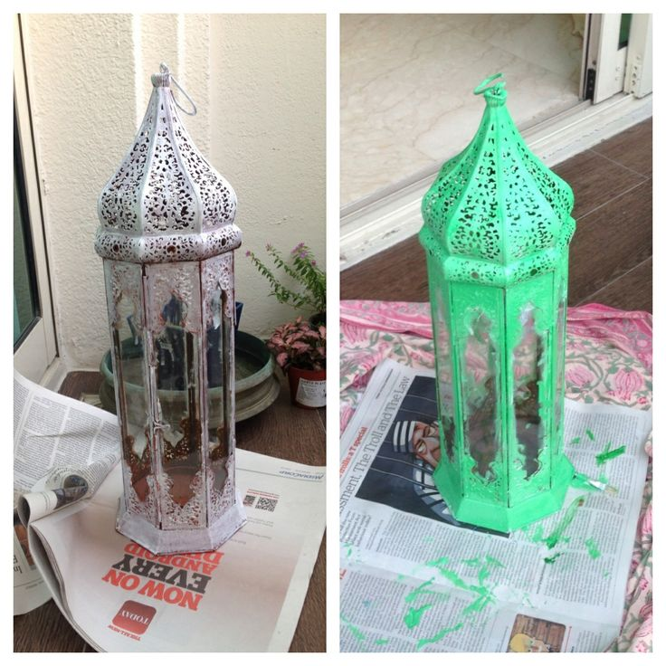 another rusted lamp restored..