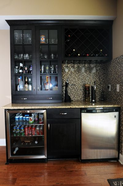 Basement Bar Options in Brennan Builders Homes