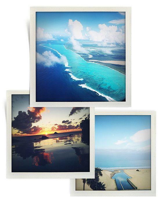 Les destinations vacances du photographe: Inez & Vinoodh http://www.vogue.fr/voyages/inspirations/diaporama/les-destinations-de-photographes/18504/image/996002
