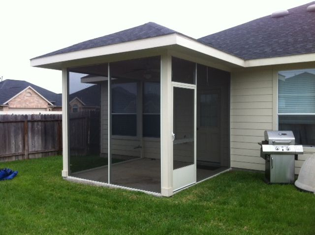 Screened Porches In Patios, Patio Screens Houston