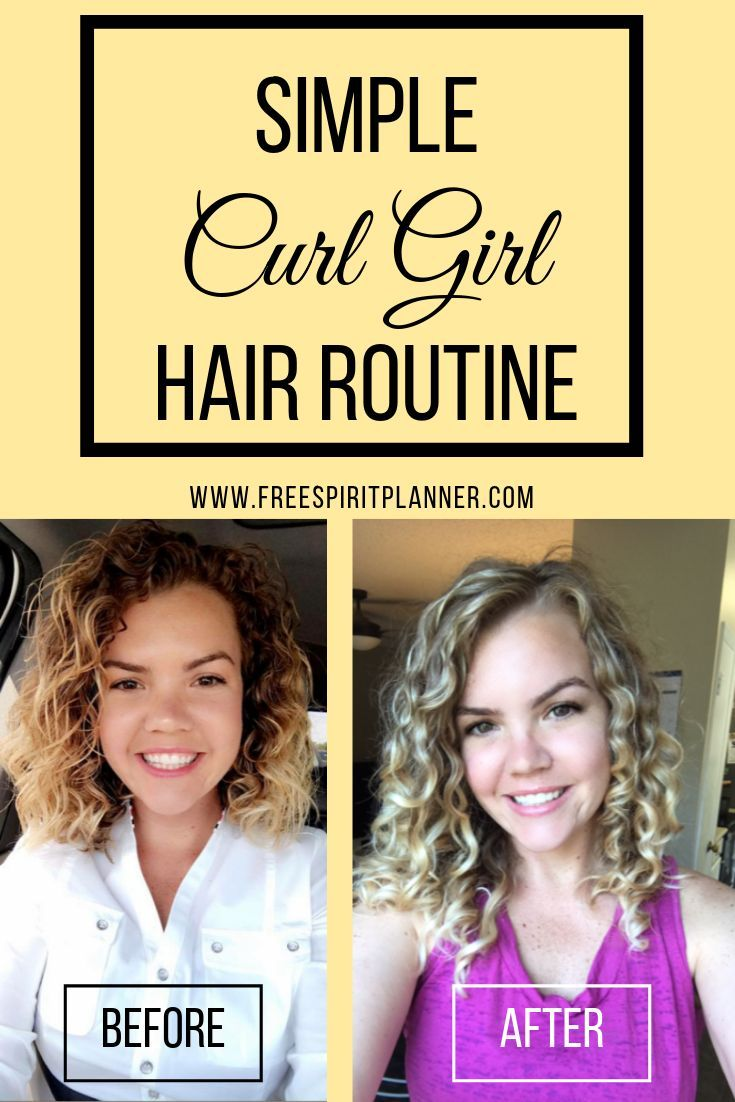 A Simple Method To Achieve Your Best Curls Using The Curly Girl