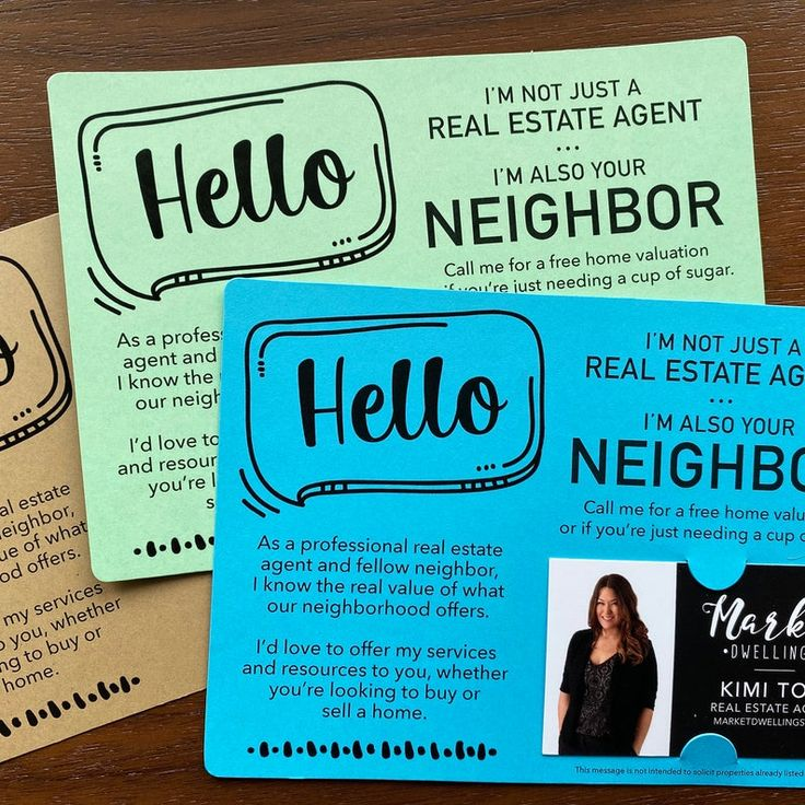 SET of I'm not just a Real Estate Agent I'm also your