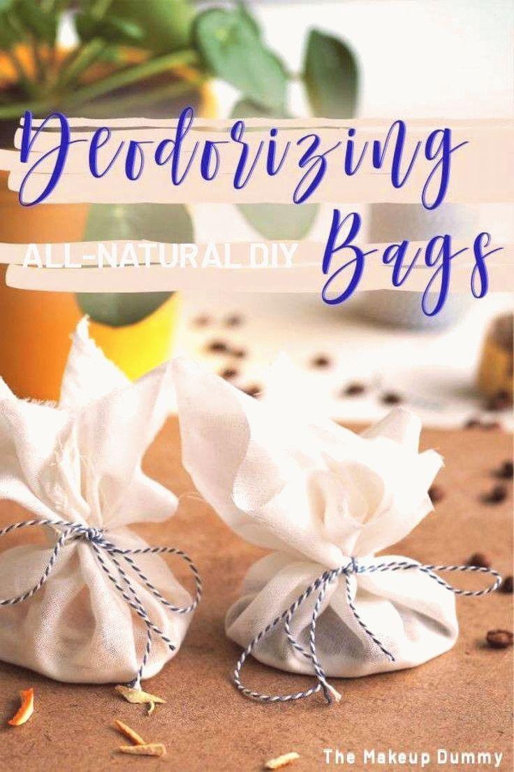 Diy deodorizing bags with baking soda to deodorize your