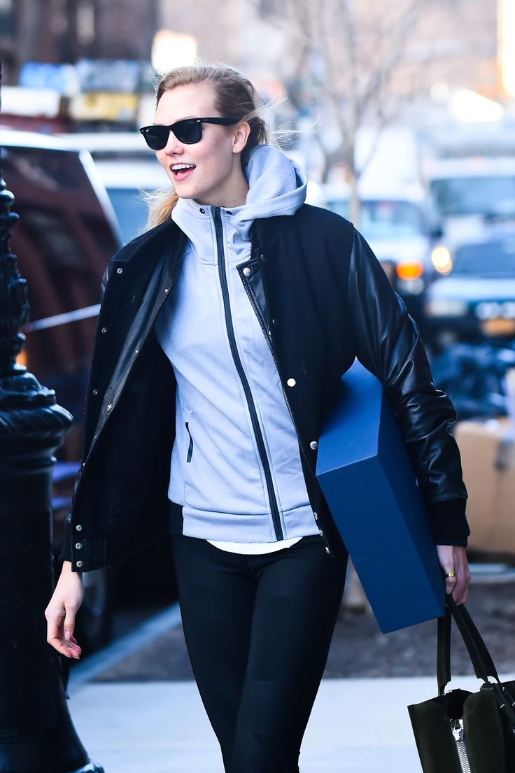 NEW YORK, NY - JANUARY 18:  Model Karlie Kloss  is seen walking in Soho on January 18, 2017 in New York City.  (Photo by Raymond Hall/GC Images) via @AOL_Lifestyle Read more: https://www.aol.com/article/entertainment/2017/06/13/karlie-kloss-boyfriend-joshua-kushner-birthday/22140429/?a_dgi=aolshare_pinterest#fullscreen