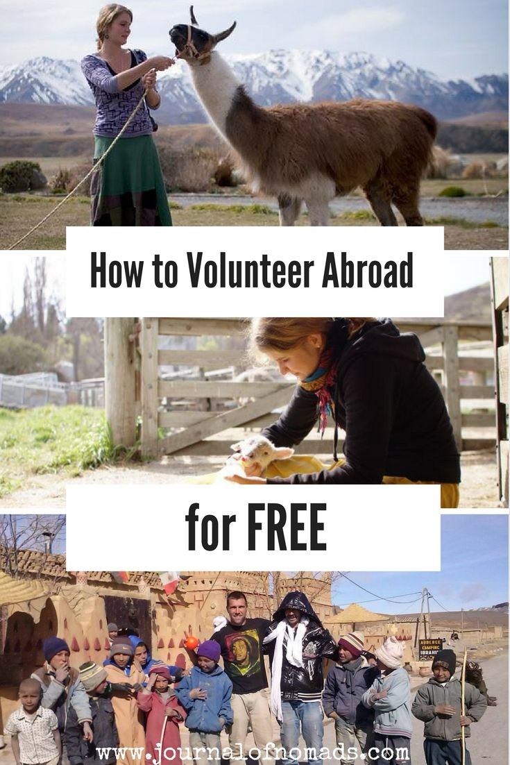 Many organizations charge a lot of money to travelers who want to volunteer around the world. Here's how we found many volunteering jobs abroad for free! Journal of Nomads