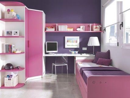 habitacion juvenil romantica
