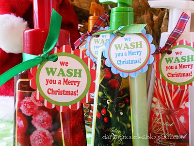 We wash you a merry Christmas!
