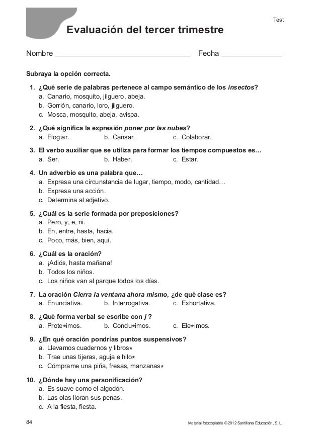 156104174 Evaluacion Continua Controles 4 Primaria Santillana Con
