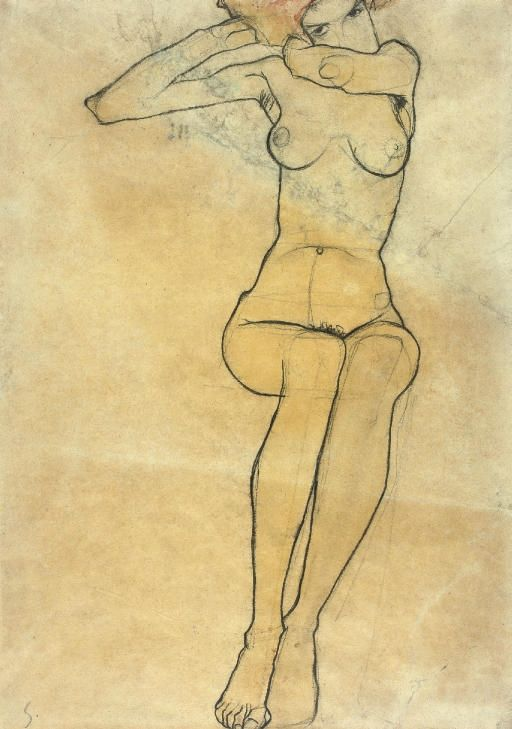 Intercepted by Gravitation | dappledwithshadow:   Egon Schiele