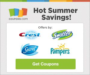 Coupon Offers, Bargain Sales, Discounted Every Day Items Coupons and Bargain Sales Prices for Everyday Items