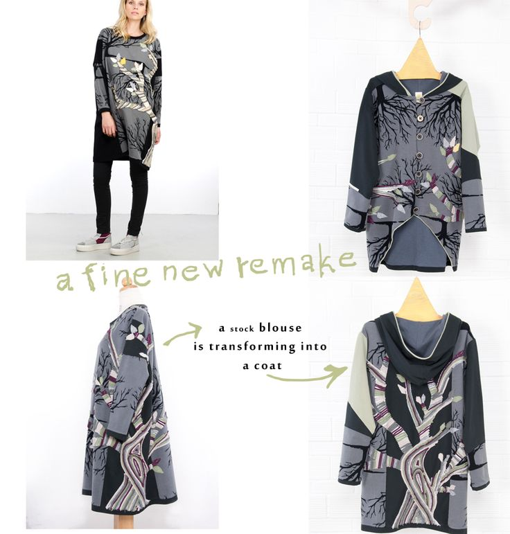 RE-design-RE-cycle  'One & Only' piece from recycling Collection #recycling #ecofashion #unique