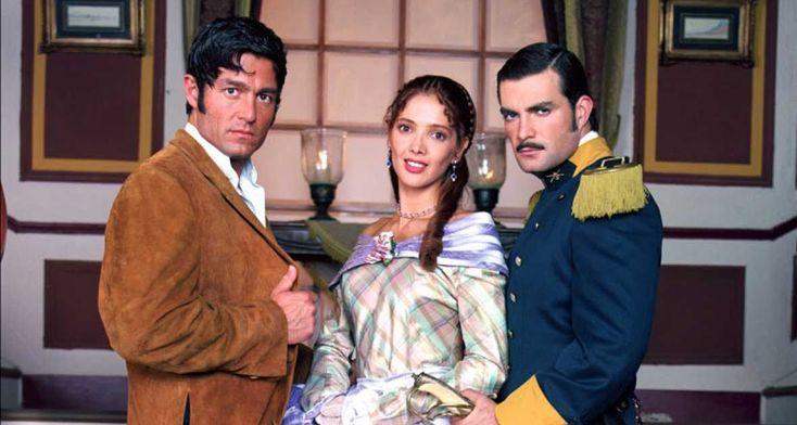 Amor real es una telenovela mexicana producida por Carla Estrada para Televisa en 2003, tomando como fondo histórico la época postindependi...