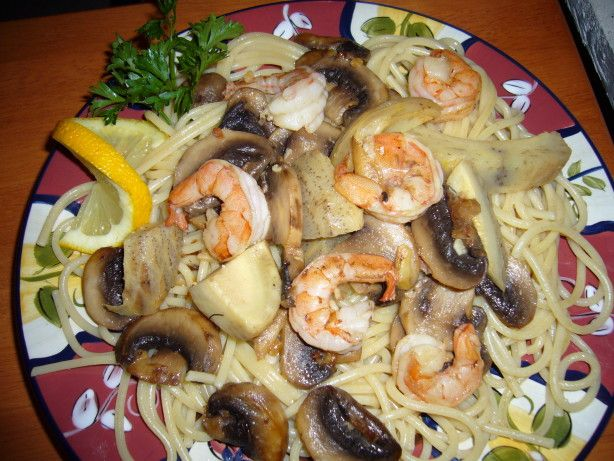 A copycat recipe for Macaroni Grill. I crave this dish sometimes. Serve this over pasta or rice....we prefer pasta.
