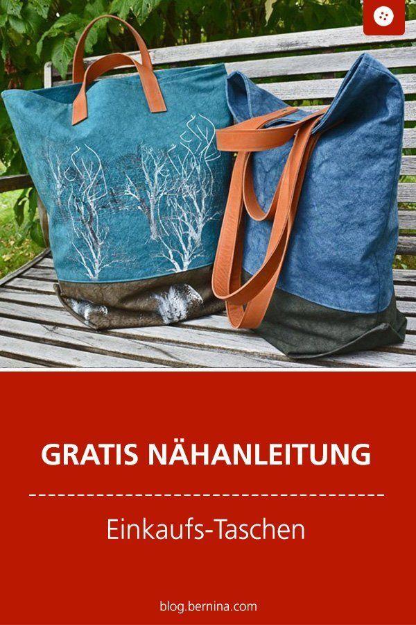 Meine neuen Lieblingstaschen - kostenlose Anleitung - #bags #Favorite #FREE #Guide #sewing