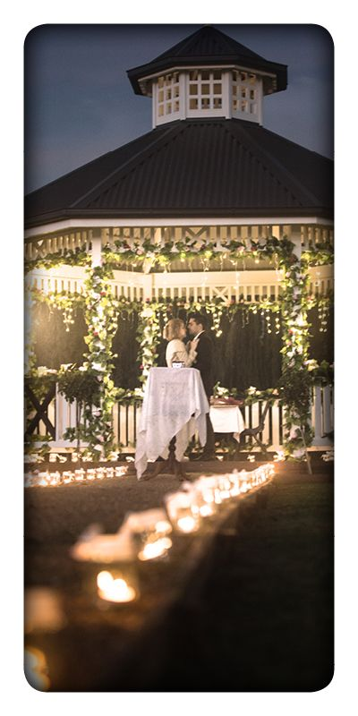 Penrith Panthers - Wedding Gazebo Such a beautiful place and set up. LOVE IT!! Showd dustin he likes it too!
