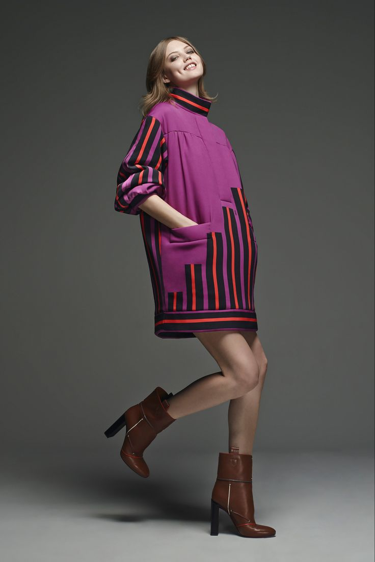 Fendi - Pre-Fall 2015 - Look 6 of 39  Lagerfeld's a genius
