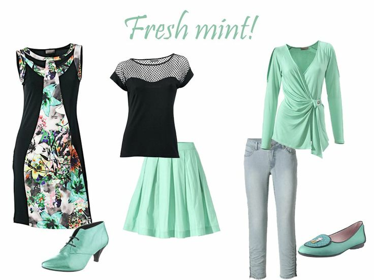 In trend: Fresh Mint!
