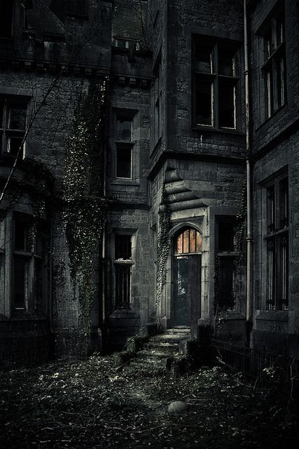 Decayed Castle, Belgium... hmm i could put this in my story...
