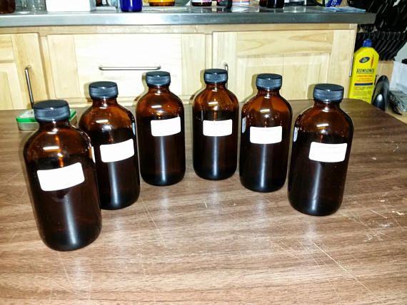 Certified Organic Herbal Survival Kit Tincture Refill Kit