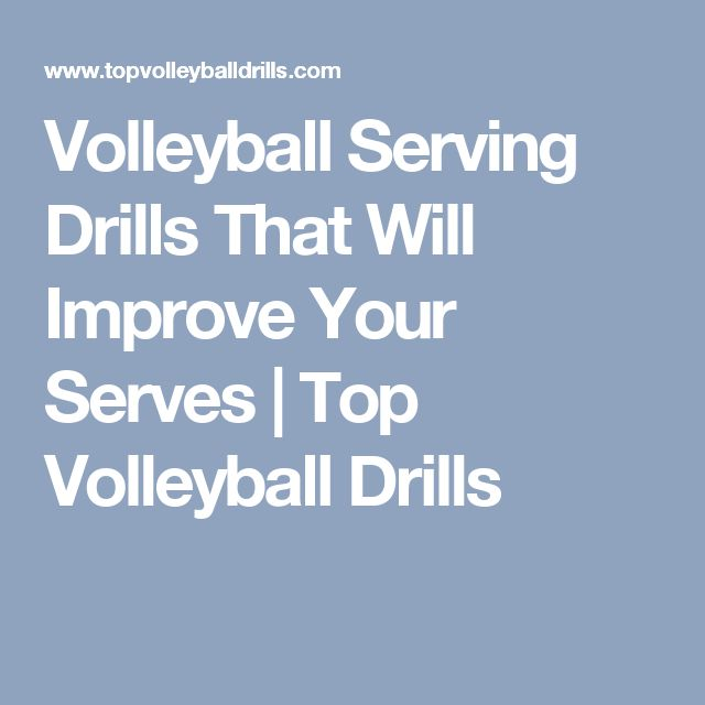 Volleyball Serving Drills That Will Improve Your Serves | Top Volleyball Drills
