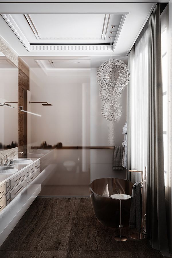 Montevil Master Bedroom Bathroom On Behance In 2020 Master Bedroom Bathroom Bathroom Design Small Bathroom Interior Design