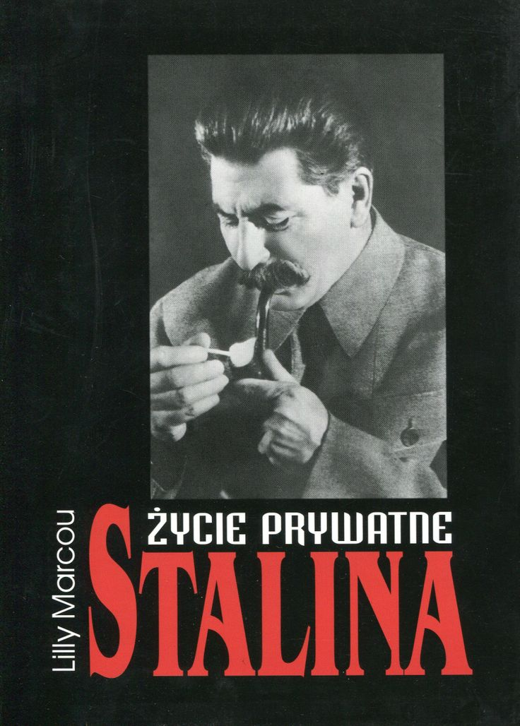 """Życie prywatne Stalina"" Lilly Marcou Translated by Maria Braunstein Cover by Krystyna Töpfer Published by Wydawnictwo Iskry 1999"