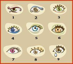 Déterminer votre personnalité. Choisissez un oeil et voyez ce qu'il révèle sur vous - Ce test de personnalité est si précis que vous allez adorer!