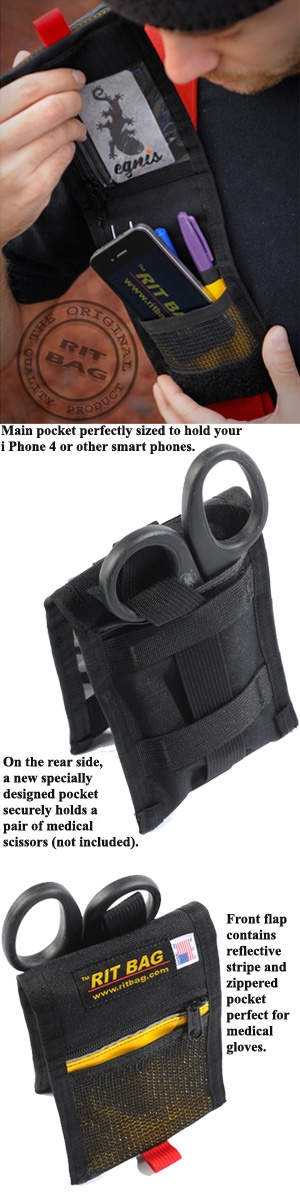 Firefighting professionals shop for helmets, flashlights, boots, badges and shields at TheFireStore.com - RIT BAG: Suspender Organizer