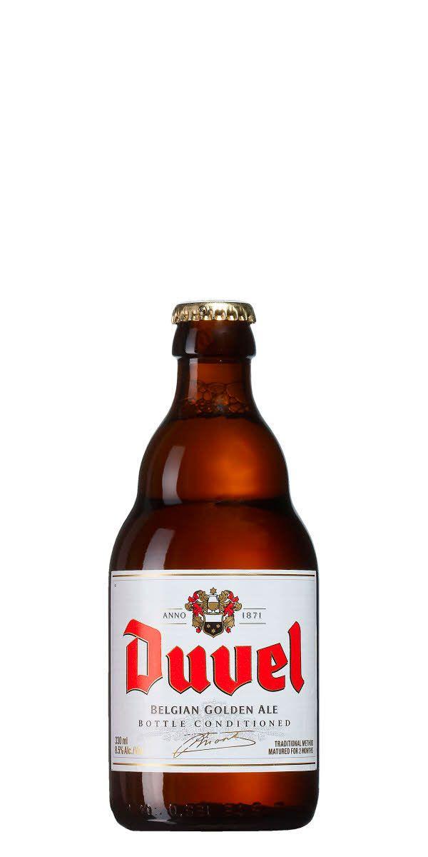 Gillar man belgisk ljus ale behöver man inte leta längre än klassiska Duvel. Håll koll på styrkan bara.