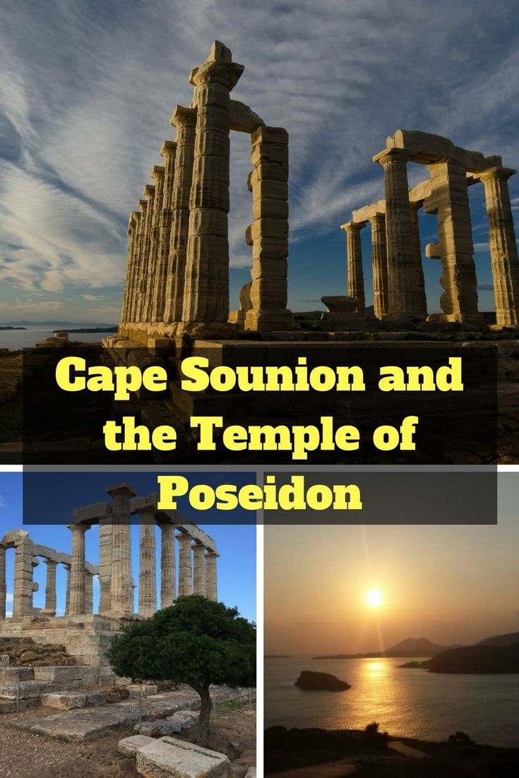 One of the most popular day trips from Athens is the Cape Sounion tour. This half-day excursion leaves the city and follows the coastline to Cape Sounion and the Temple of Poseidon. #Athens #Greece